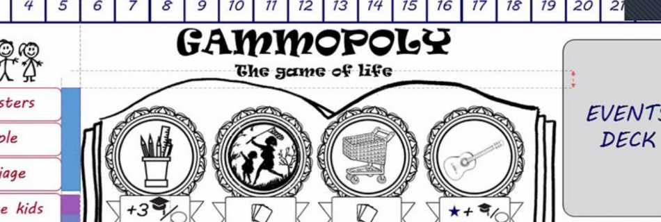 Imagen del juego creado en el proyecto Gammopoly