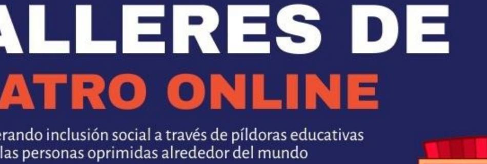 Talleres de Teatro Online